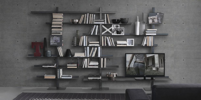 soggiorno - siderio - mobili in stile moderno-industrial - Soggiorno Total White