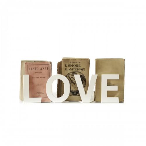SCRITTA VERBOOM H 12 CM - LOVE
