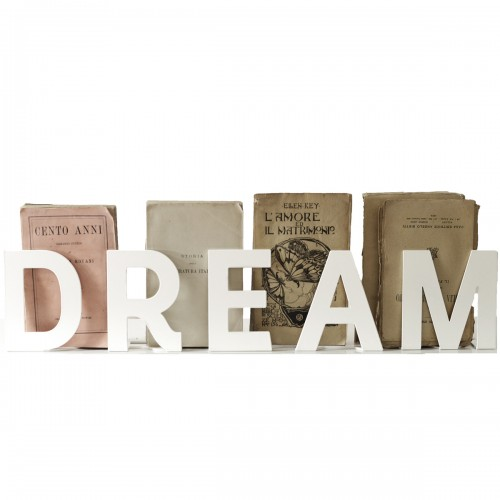 SCRITTA VERBOOM H 12 CM - DREAM