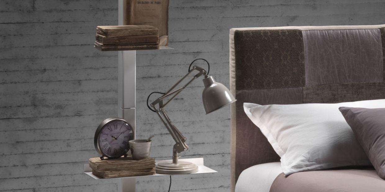 Camera da letto - Siderio - Mobili in Stile Moderno-Industrial